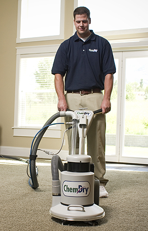 professional Carpet Cleaning Technician